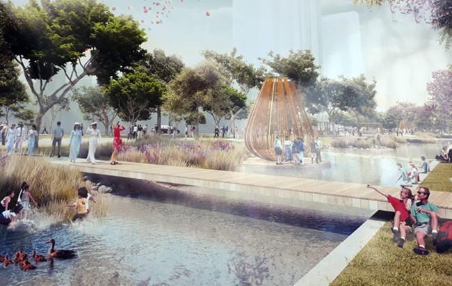 """Ý tưởng quảng trường là """"trái tim"""" của đô thị"""