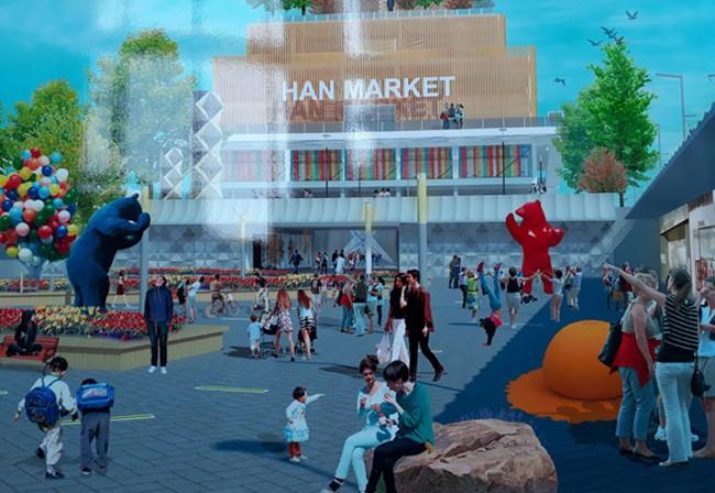 Quảng trường – nơi gặp gỡ của những trái tim yêu Đà Nẵng – thành phố đáng sống