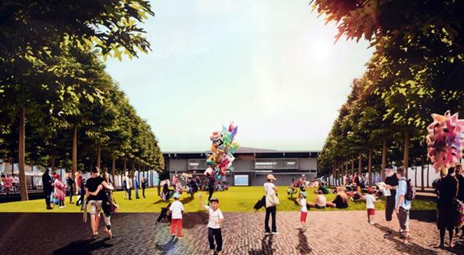 Quảng trường – nơi gặp gỡ của những trái tim yêu Đà Nẵng