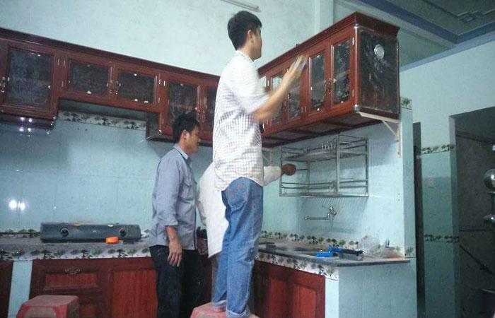 Tủ bếp nhôm cao cấp