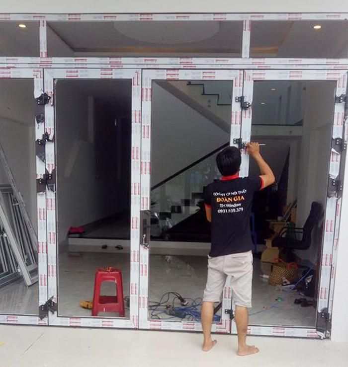 Cửa nhôm kính cao cấp Đà Nẵng