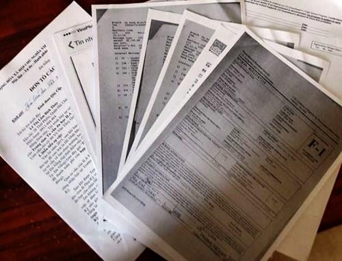 Các tài liệu liên quan mà gia đình bà T. tố cáo ILA Đà Nẵng